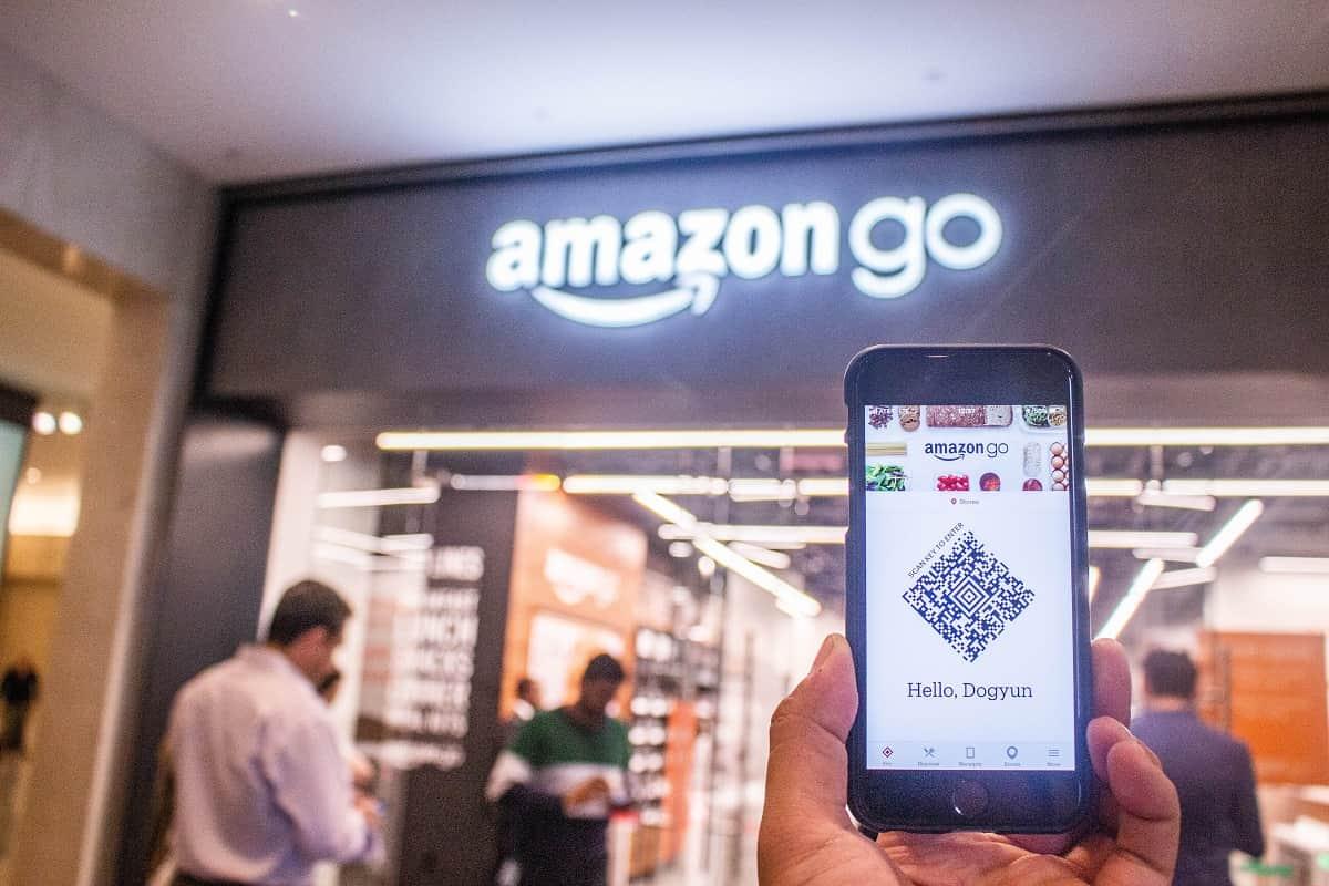 An Amazon Go store
