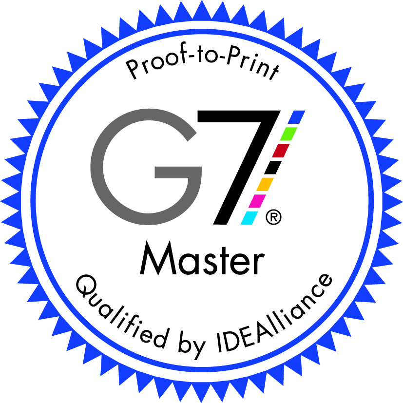 proof-to-print G7 Master qualified by IDEALliance