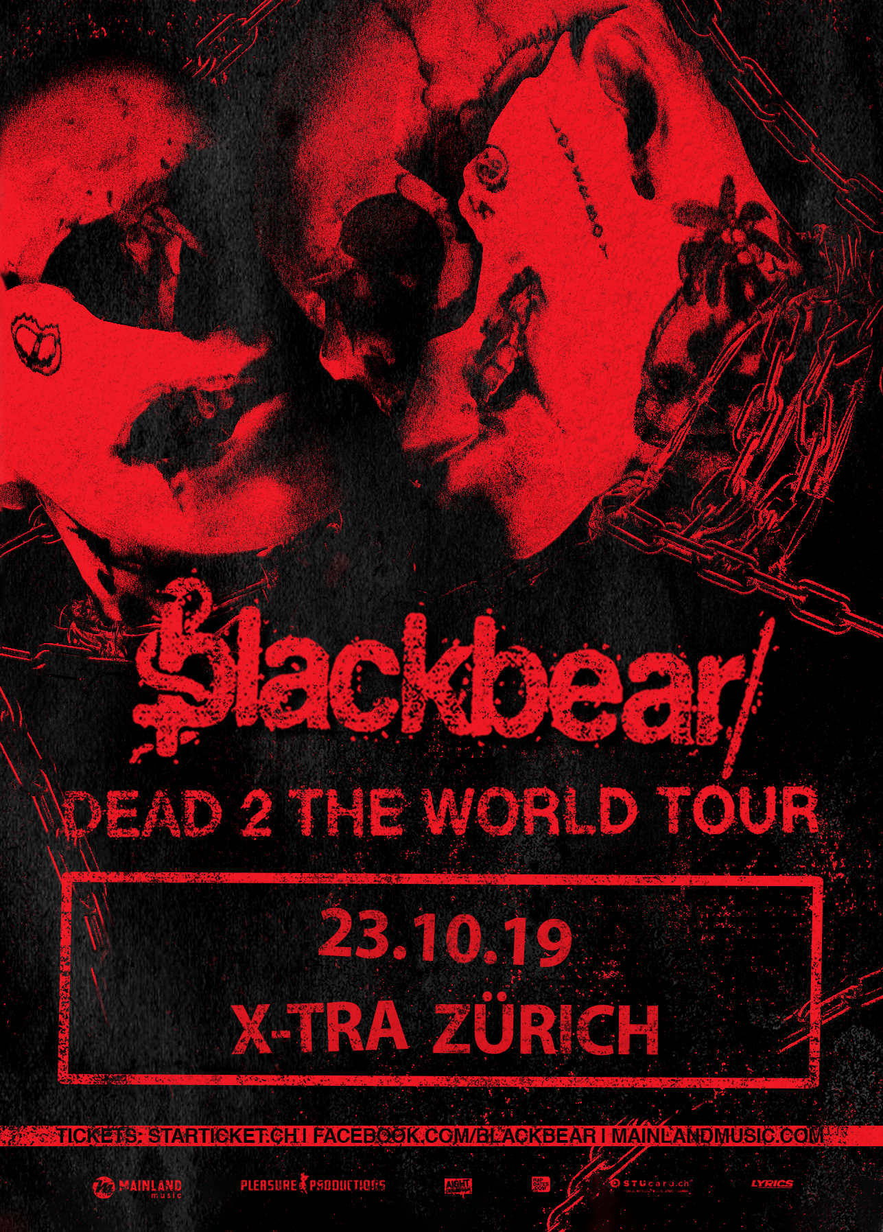 blackbear – Dead 2 the World Tour