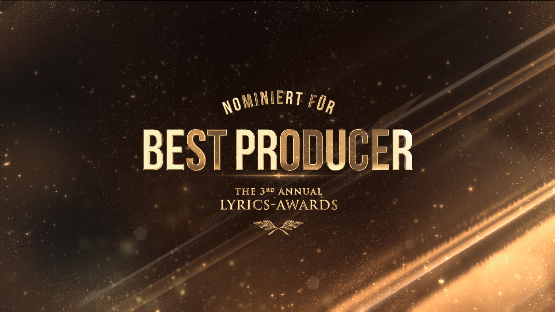 Best Producer | LYRICS-Awards 2018
