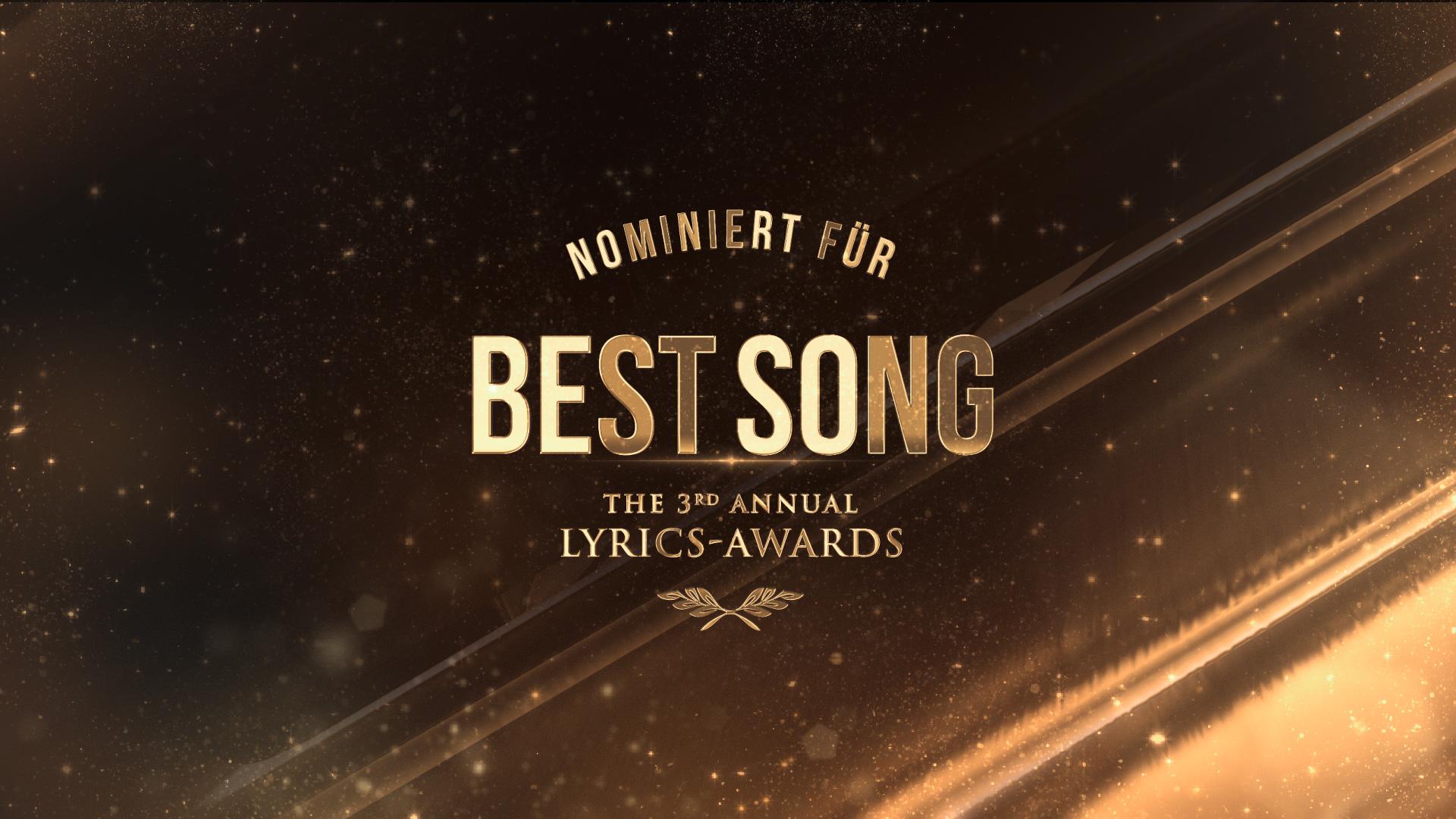 Best Song | LYRICS-Awards 2018