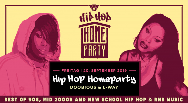 HipHop Homeparty – Doobious & L-Way