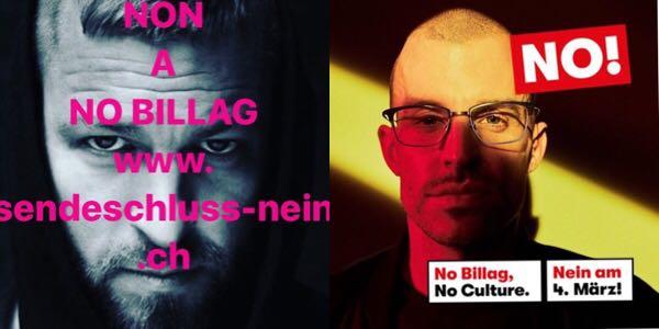 CH-Rap sagt «Nein» zu No-Billag