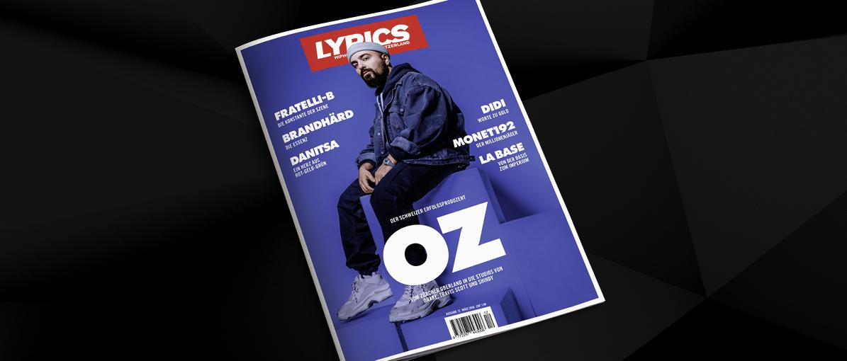 Ab dem 30. März im Handel: Das neue LYRICS-Magazin