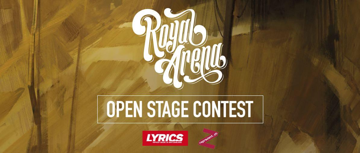 Royal Arena Open Stage Contest - Jetzt bewerben!