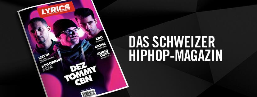 Prolog LYRICS Magazin 014 - Der Einfluss von HipHop durchdringt neue Sphären.