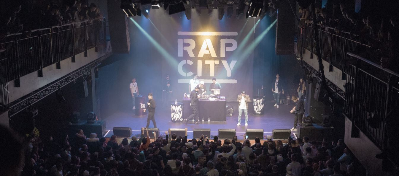 Rap City: Bewirb dich für einen Slot