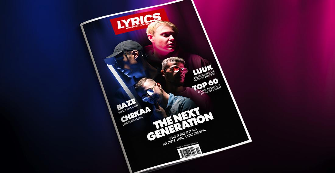 Die Ausgabe #14 des LYRICS Magazins