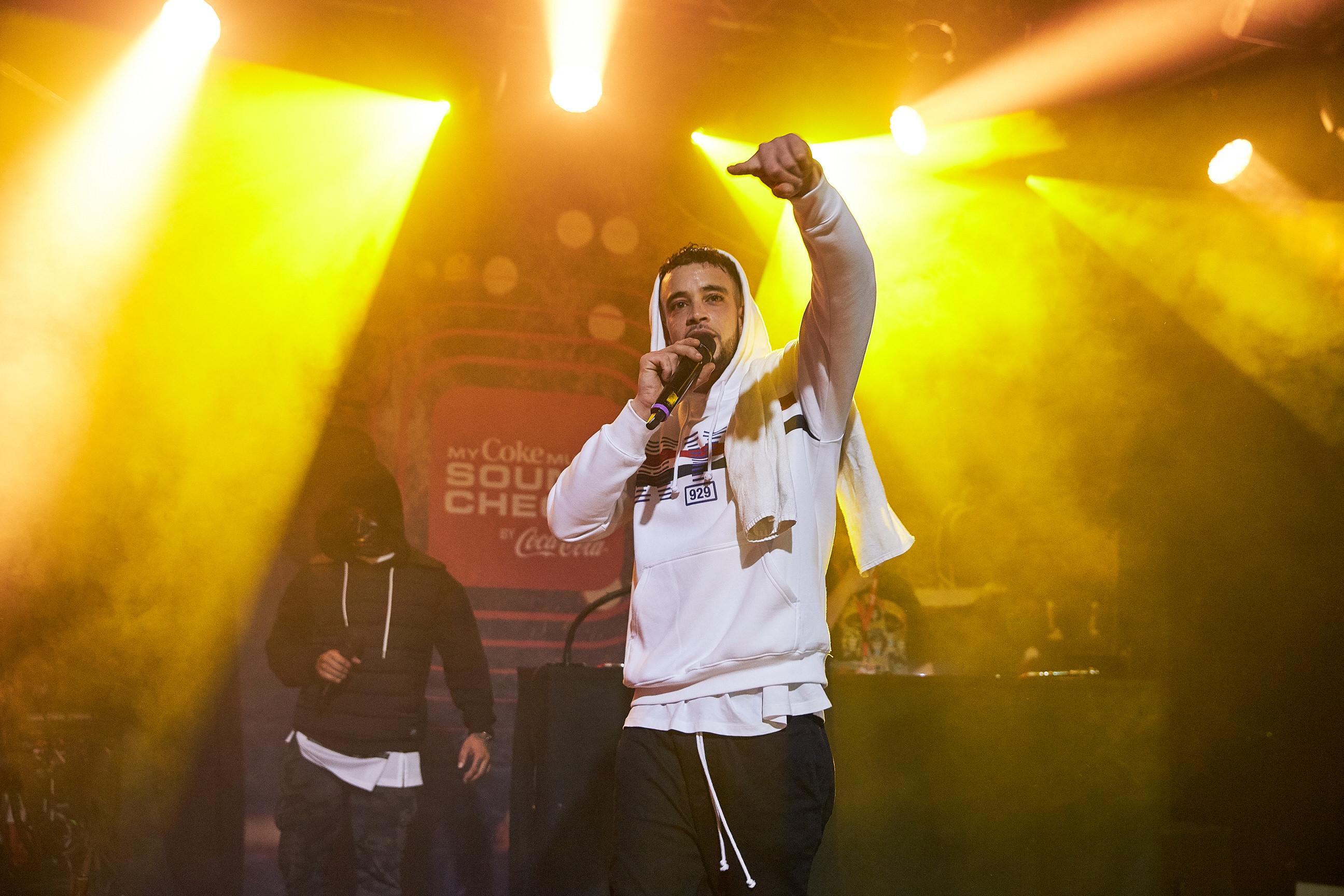 Rapper «S.M.D.» gewinnt den MyCokeMusic Soundcheck 2018