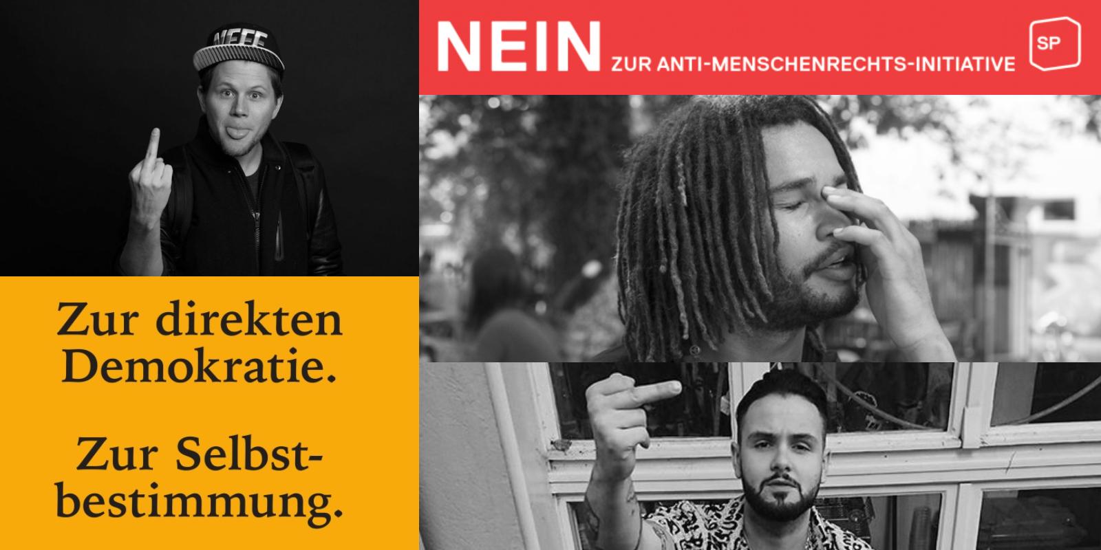 Schweizer Rapper gegen SBI