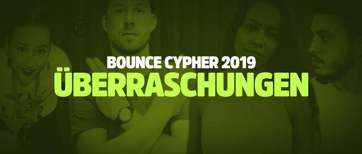 Das waren die Überraschungen am Bounce Cypher 2019