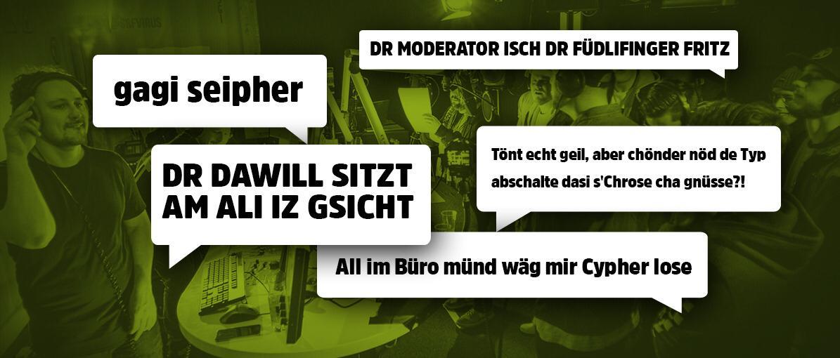 Cypher: Das Witzigste aus sieben Stunden Live-Chat