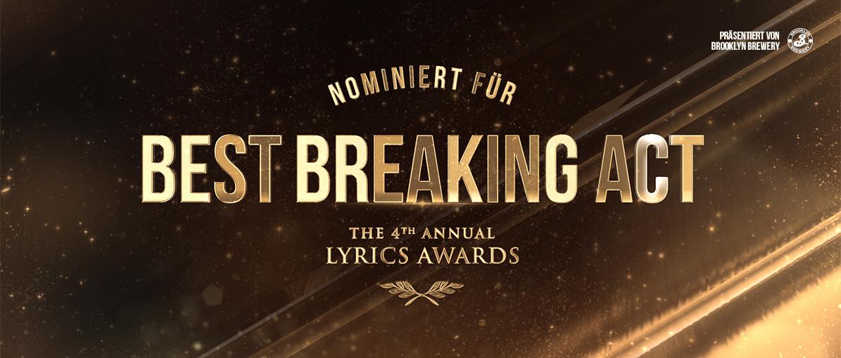 Best Breaking Act | LYRICS Awards 2019