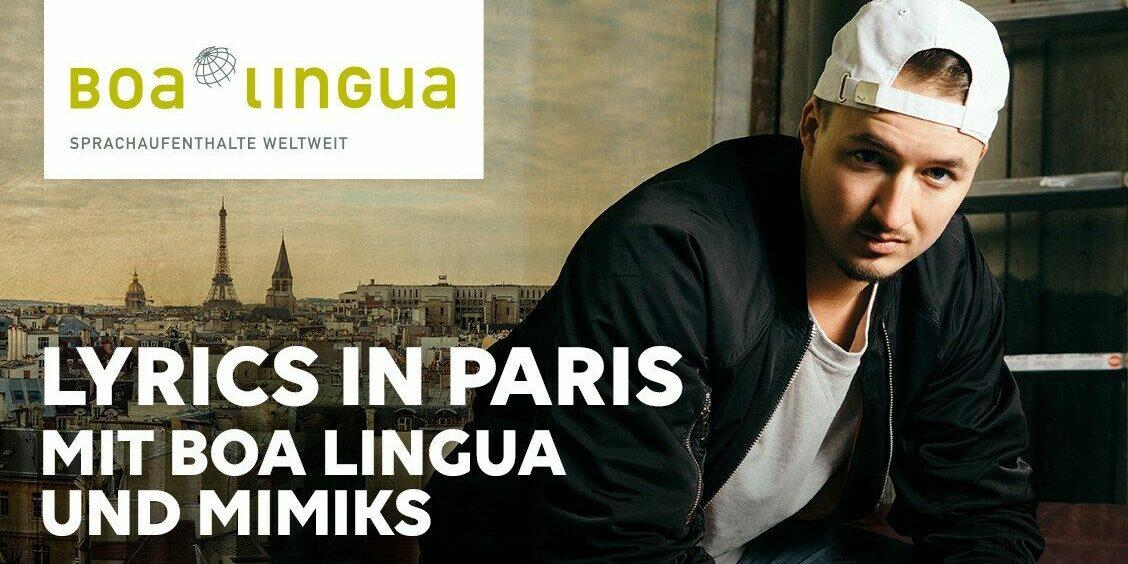 Gewinne eine Reise nach Paris mit LYRICS und Mimiks