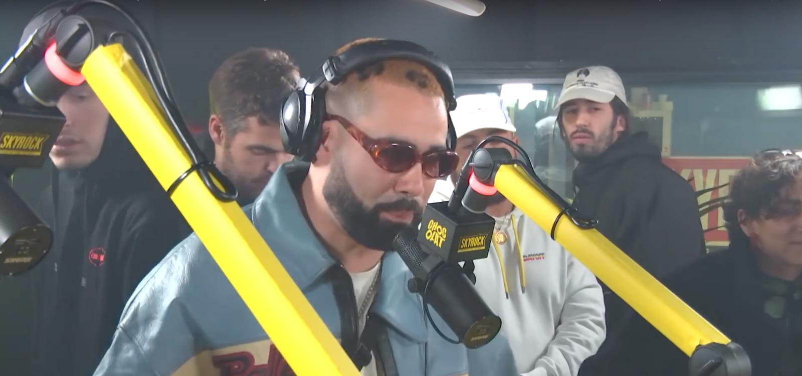 Buds Penseur bei Skyrock FM