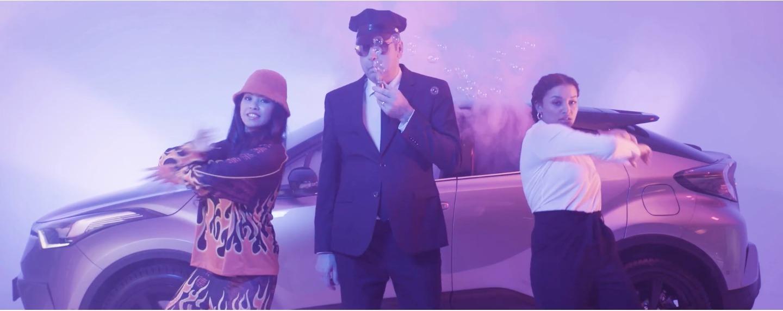 Toyota-Chef Dirk Breuer mit peinlichem Rap-Video