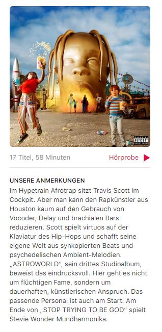 Wenn Travis Scott wüsste, dass sein Album in Europa als Afrotrap bezeichnet wird...