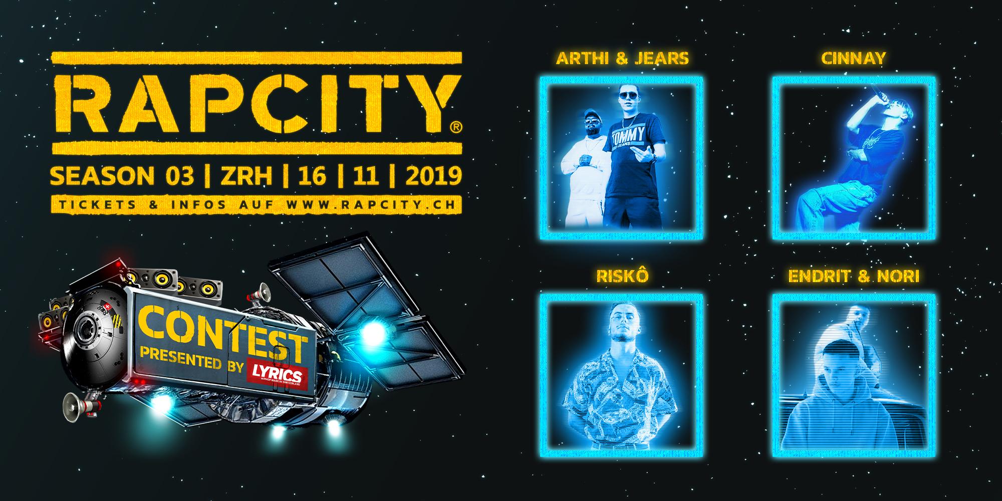 Die ersten vier Finalisten vom Rap City Contest stehen fest