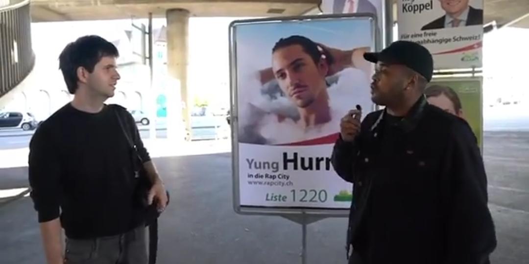 Rap City schickt Gabirano und Kiko auf Stimmenfang für Yung Hurn
