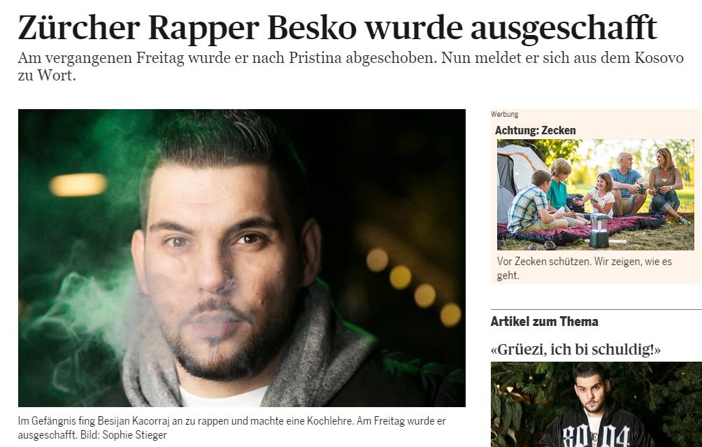 Der Fall Besko sorgte medial für sehr grosses Aufsehen.