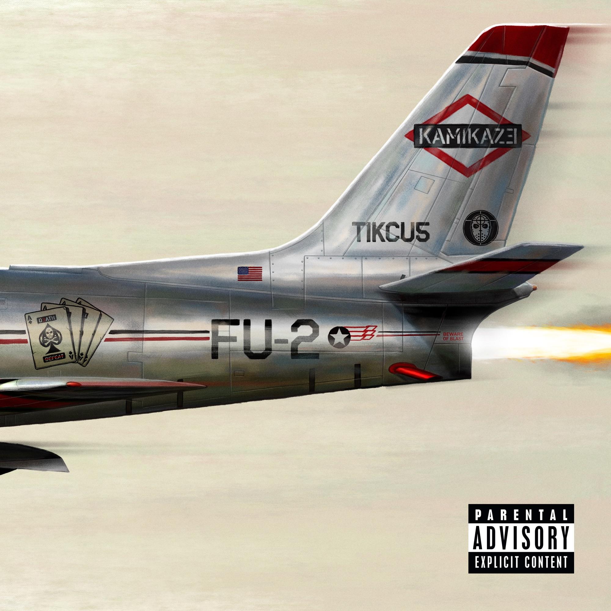 "Eminems Cover zu ""Kamikaze"""