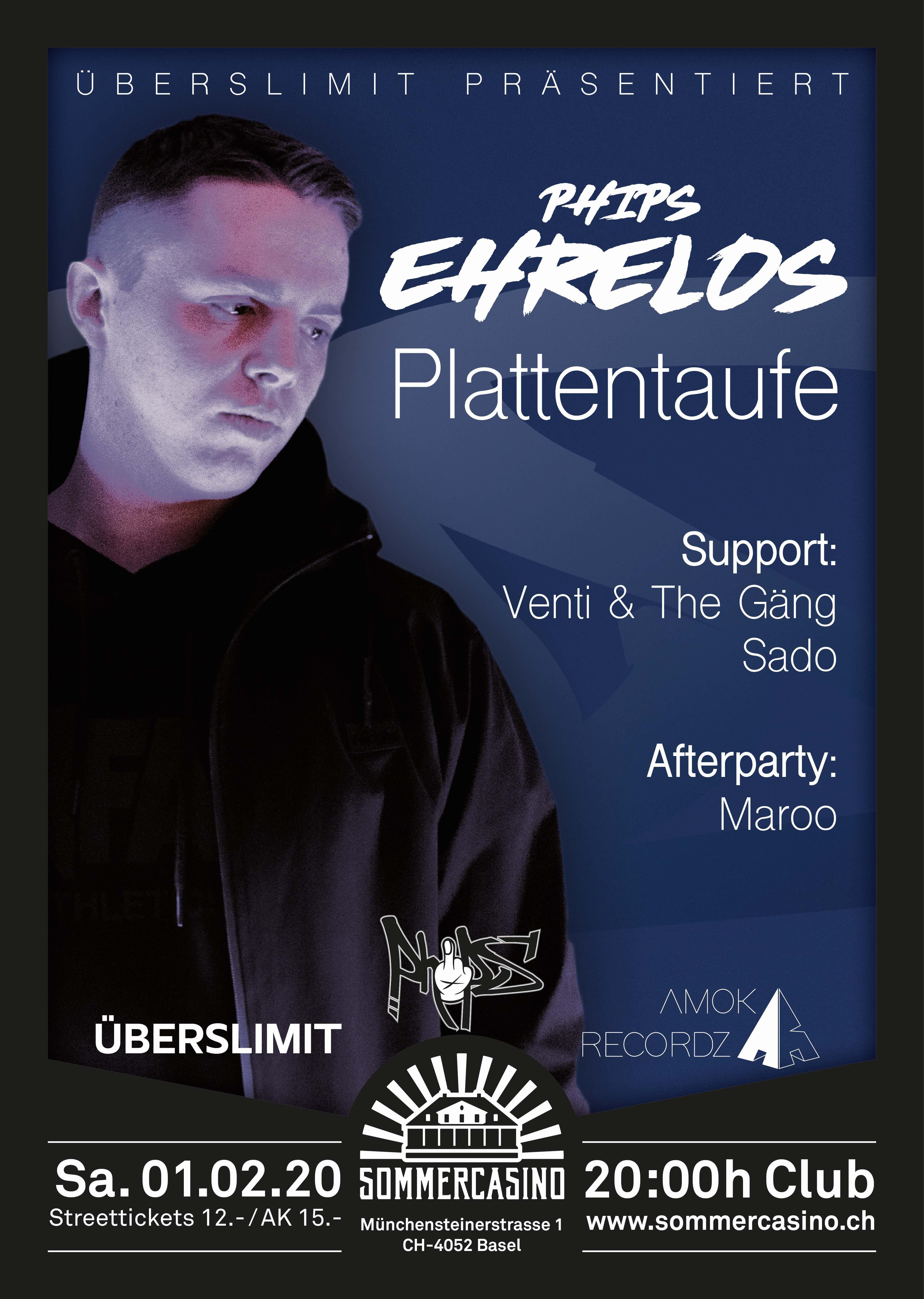 """Phips - """"Ehrelos"""" Plattentaufe"""