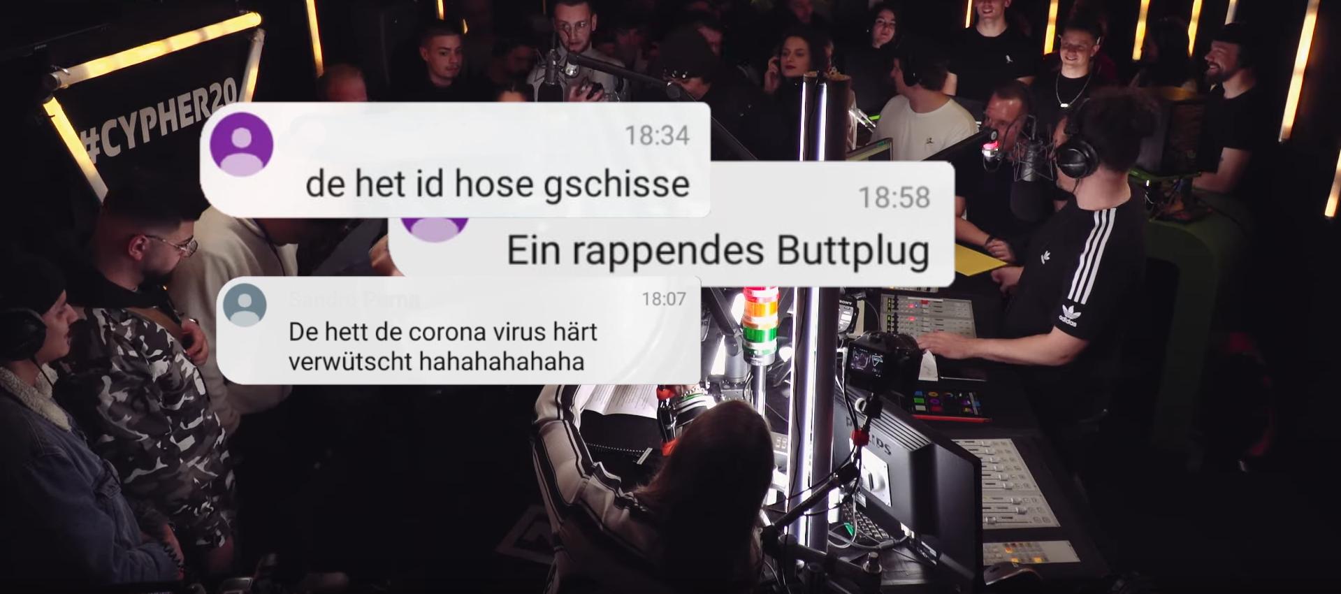 Die witzigsten, skurrilsten und provokantesten Kommentare aus dem Cypher-Livechat