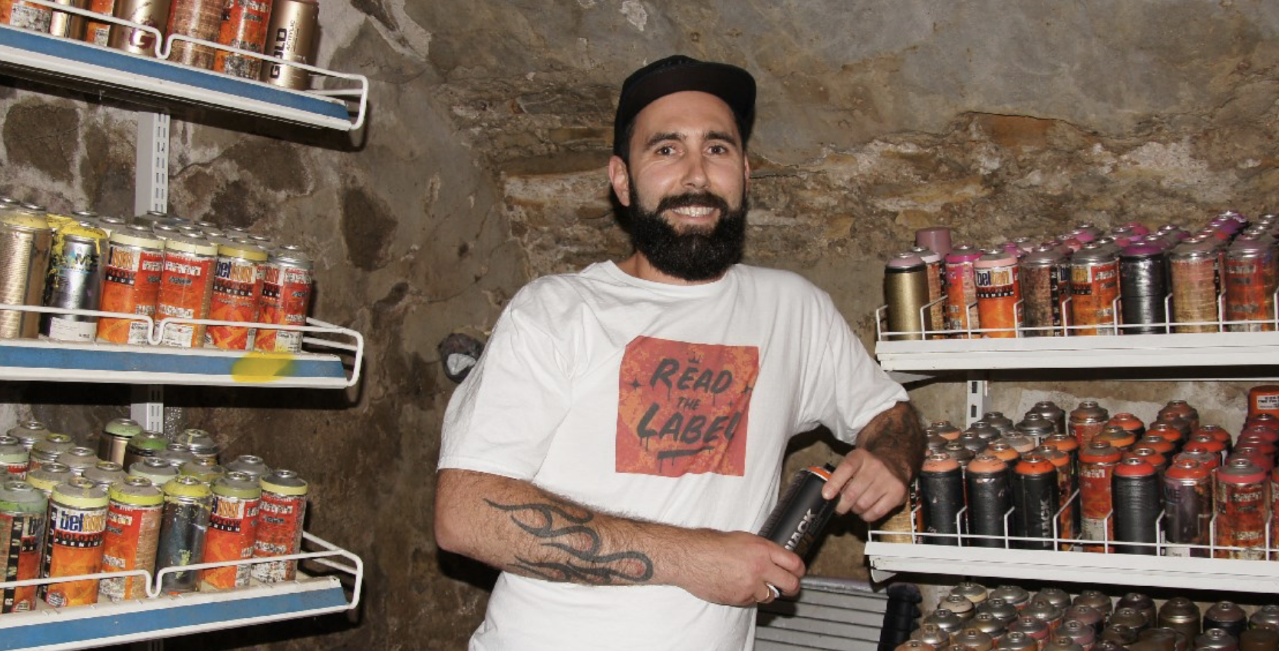 Der Graffiti-Artist Boogie im Interview mit Brooklyn Brewery