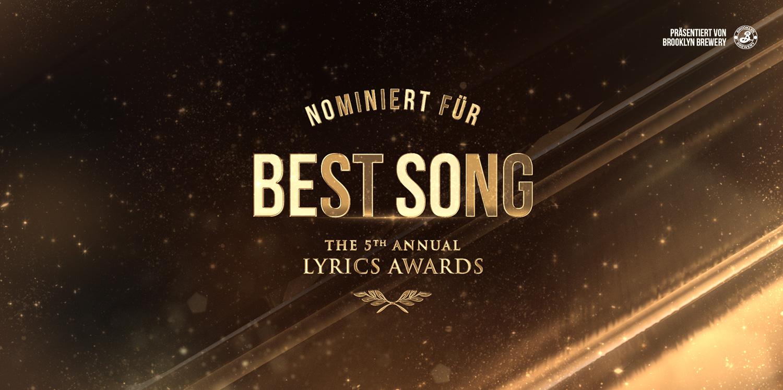 LYRICS Awards: Best Song