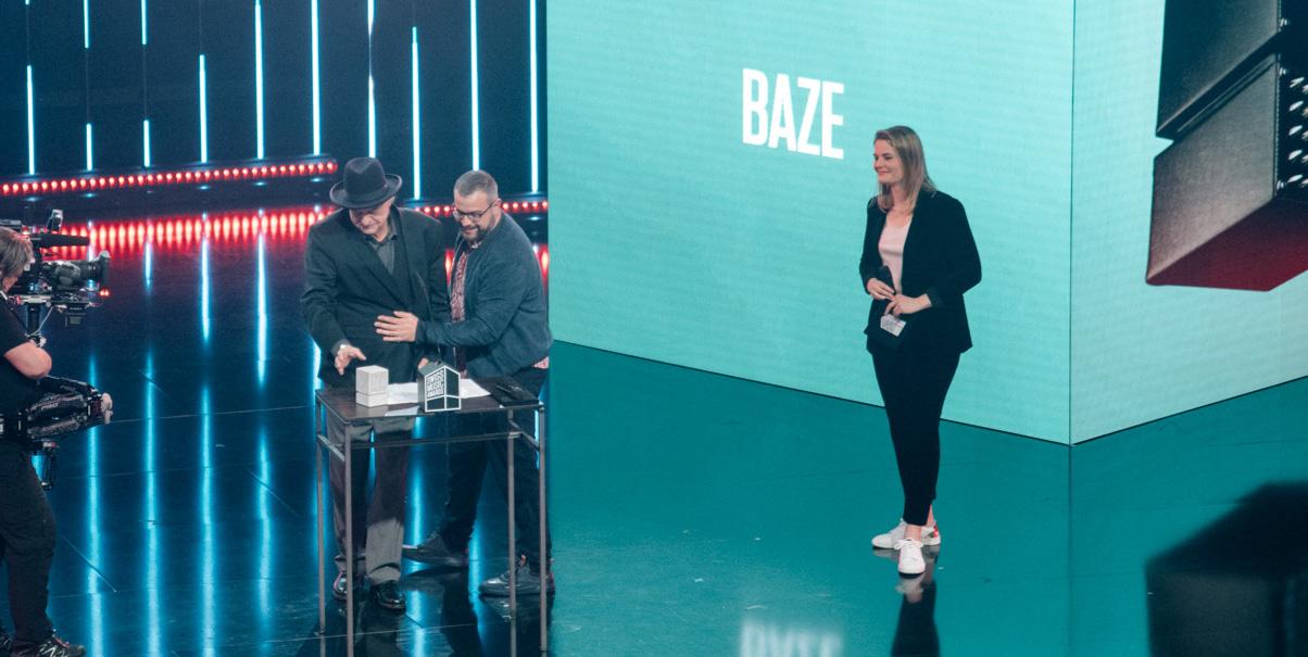 Baze erhält den Ehrentitel