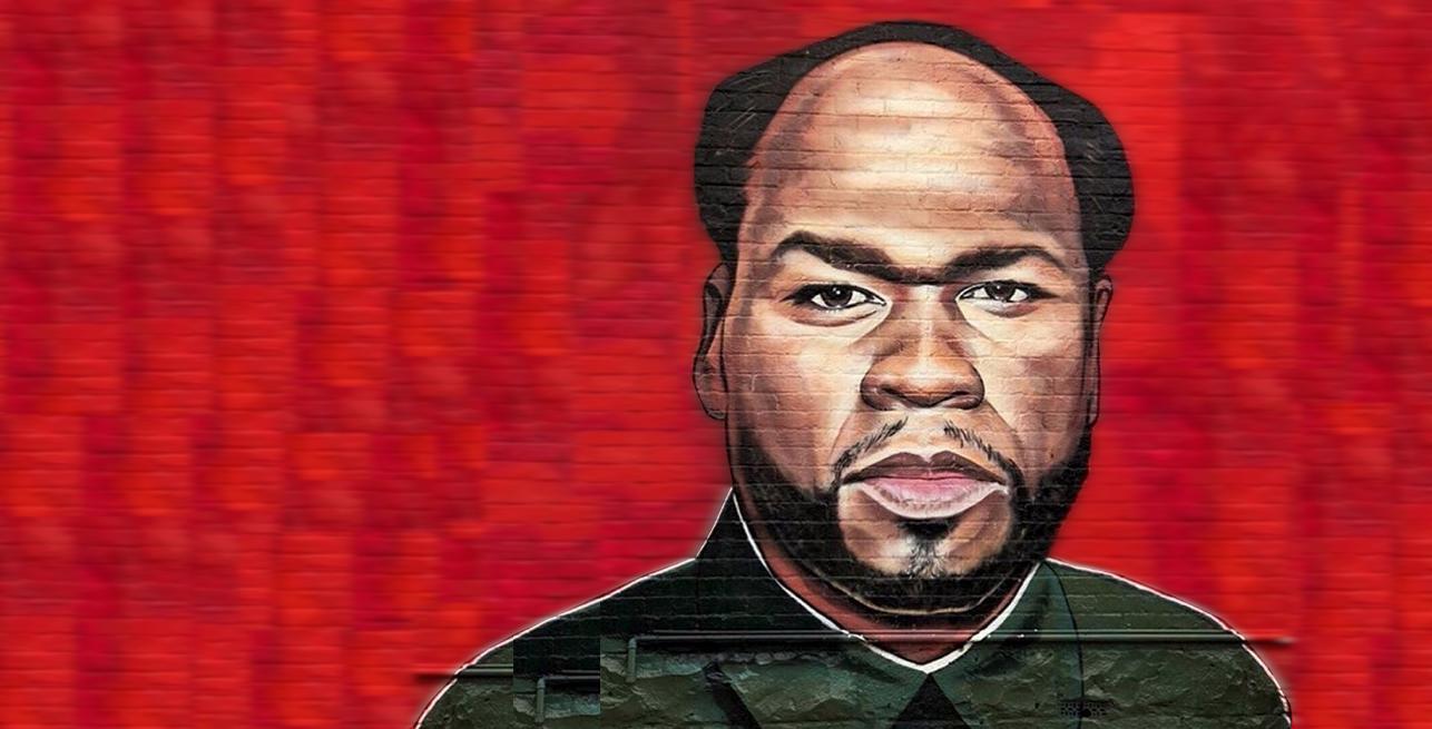 50 Cent als Donald Trump, 6ix9ine und viele mehr: Streetart-Künstler macht Welle und 50 Cent reagiert prompt