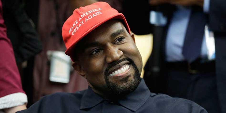 Wilde Spekulationen um Kanye: Freundschaft mit Trump nur ein Fake?
