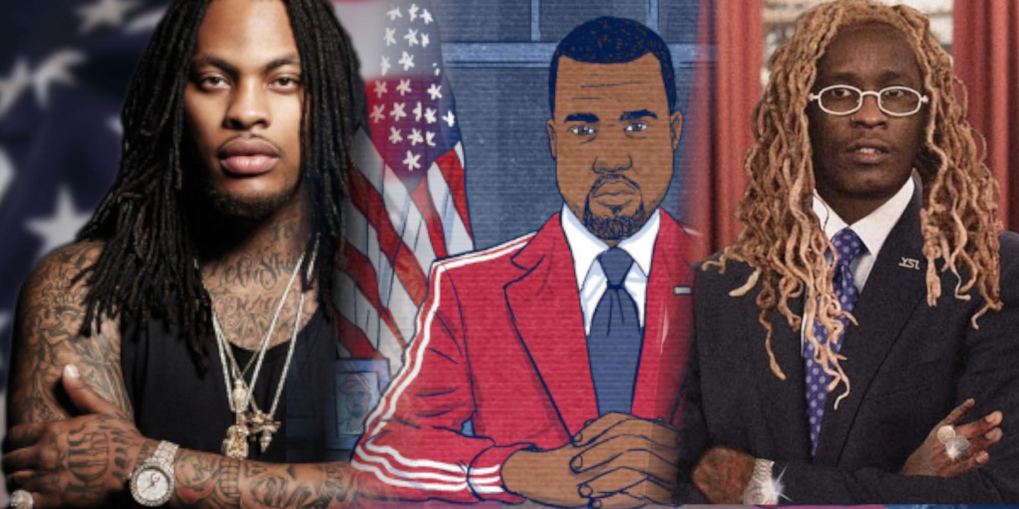 Wird der nächste US-Präsident ein Rapper sein? Neben Kanye haben diese Künstler*innen ihre Kandidatur angekündigt