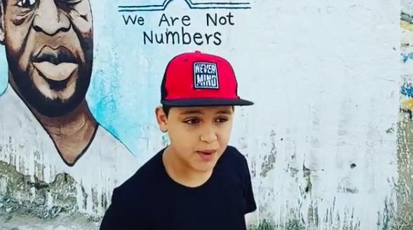 11-jähriger Schüler aus Palästina fordert Frieden mit Rap