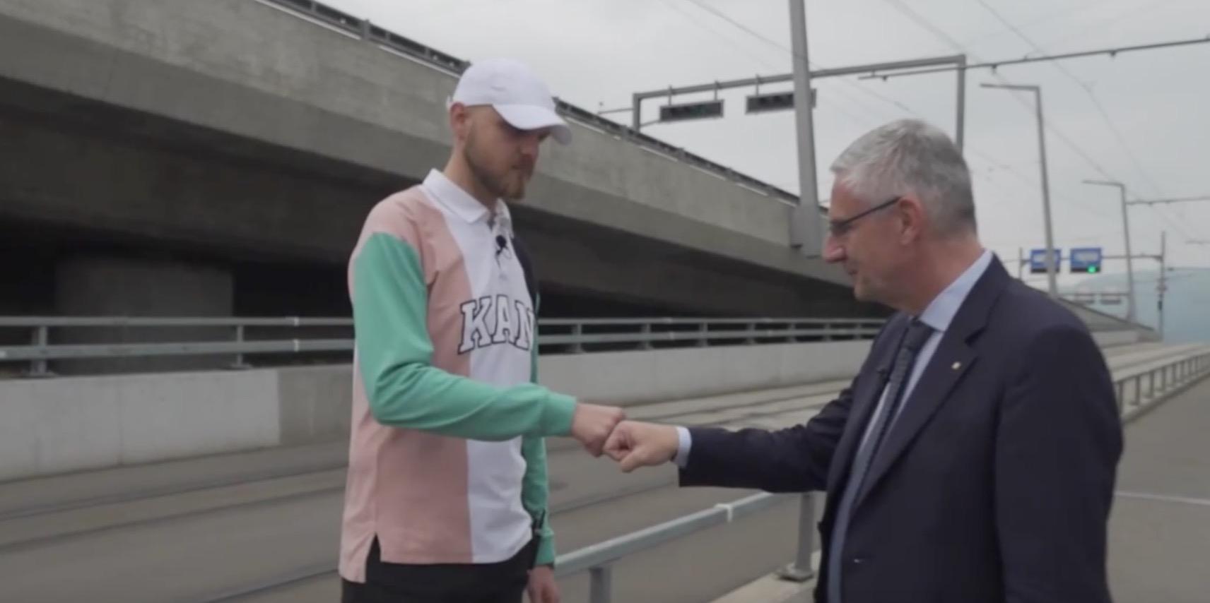 Showdown? Milli54 trifft auf SVP-Politiker Andreas Glarner