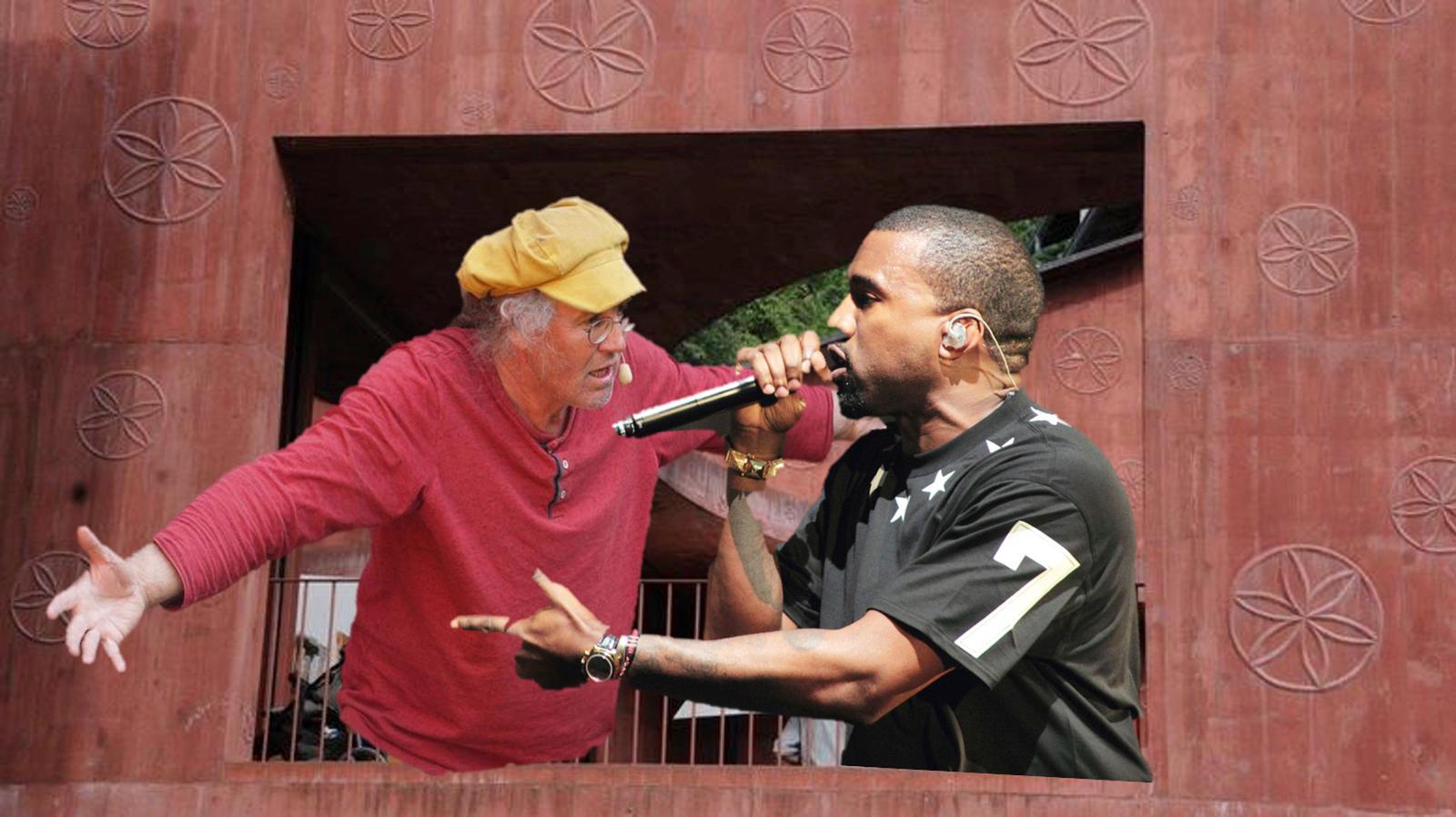 Kinderlieder-Sänger Linard Bardill trifft auf Kanye West