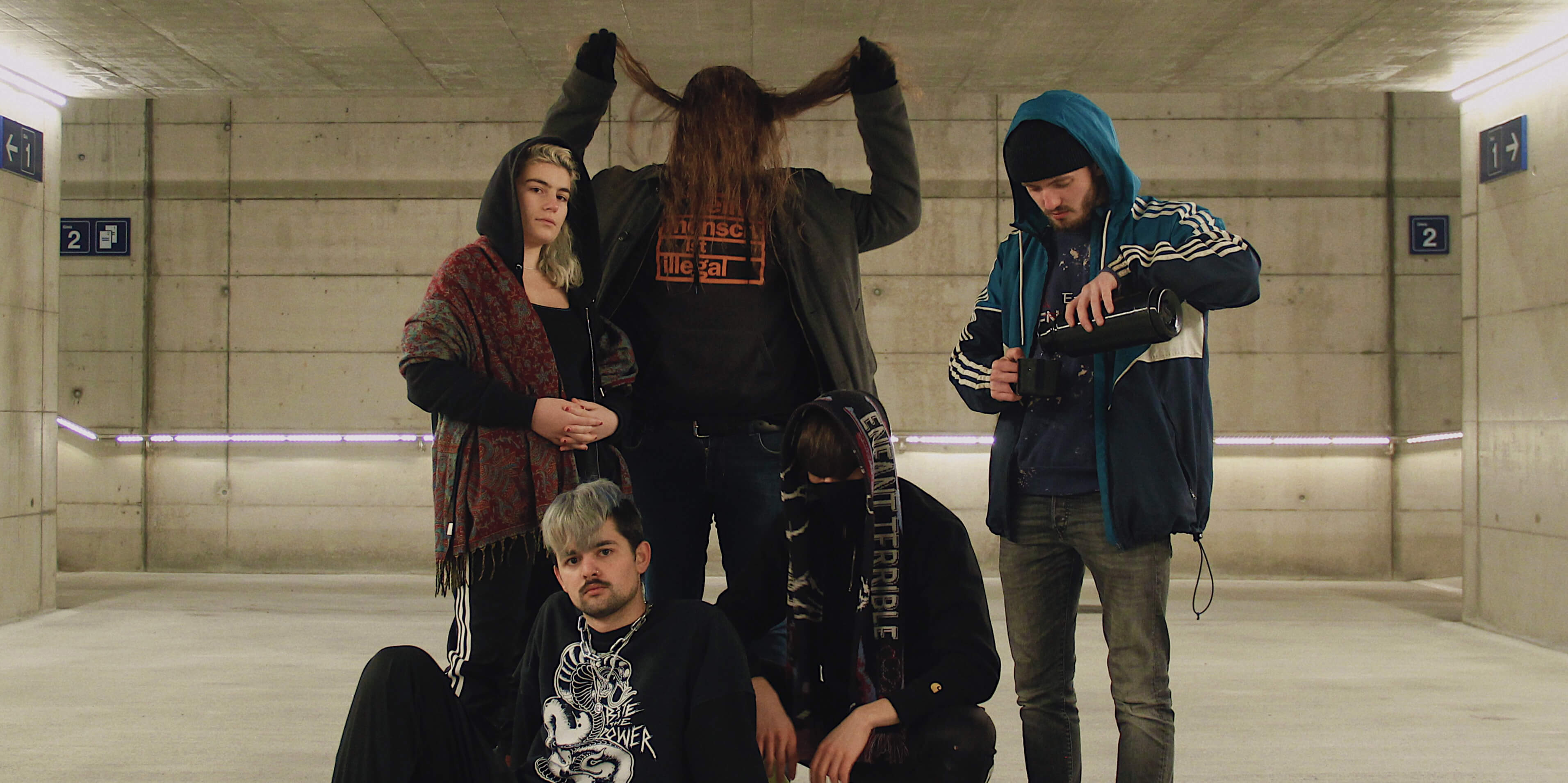 Kaputte Musik für kaputte Menschen: erstes Release von Hatepop-Kollektiv