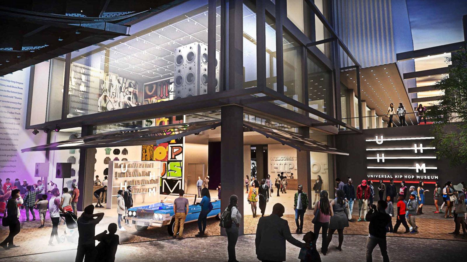 In der Bronx gibt's bald ein HipHop-Museum