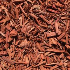 [Mulches and bark] Dyed Red Mulch