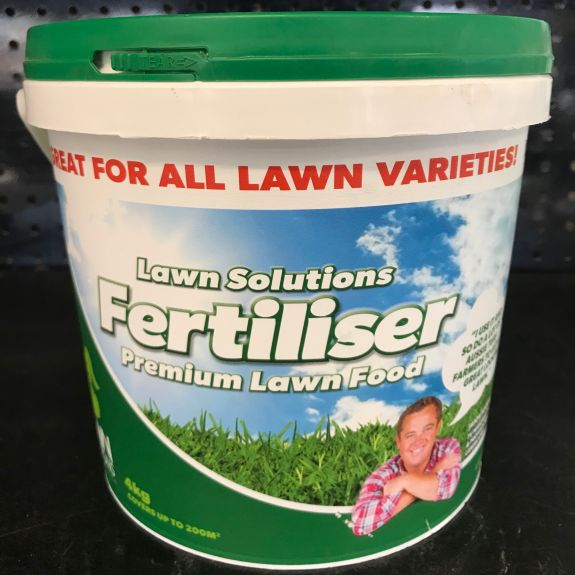 [Lawn Fertilisers] Lawn Solutions Fertiliser