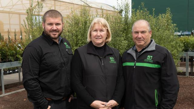 Team of horticulturists at All Green