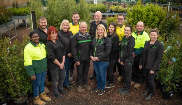 Expert horticultural team at All Green