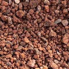 [Mulch, sand & soil] Scoria