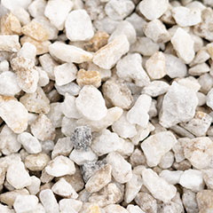[Pebbles, Rocks and Gravel] White Ice Pebbles