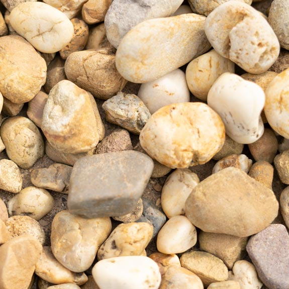[Pebbles, Rocks and Gravel] Washed Golden Pebbles