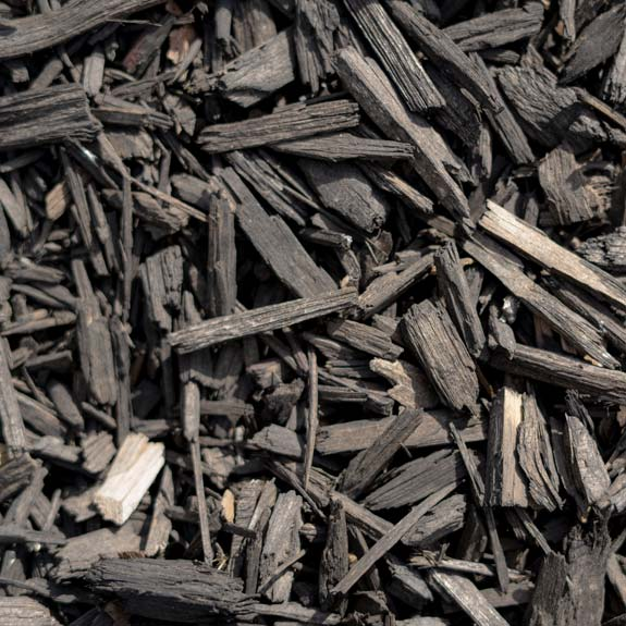[Mulches and bark] Dyed Black Mulch
