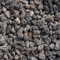 [Pebbles, Rocks and Gravel] Black Scoria