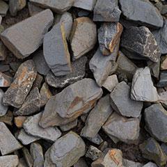 [Pebbles, Rocks and Gravel] Slate Mulch