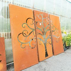 [Garden Screening] Corten Panels