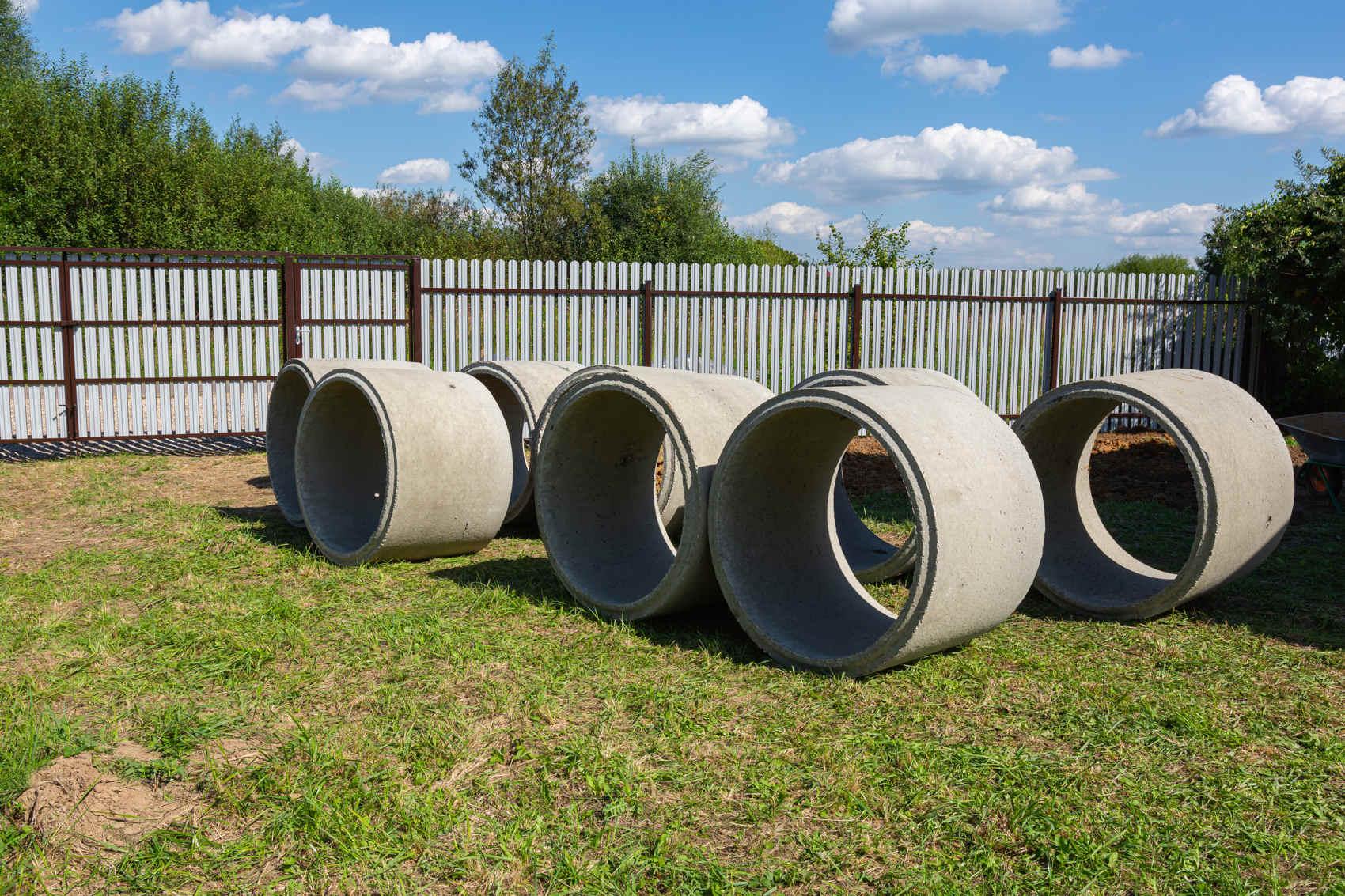concrete tree rings